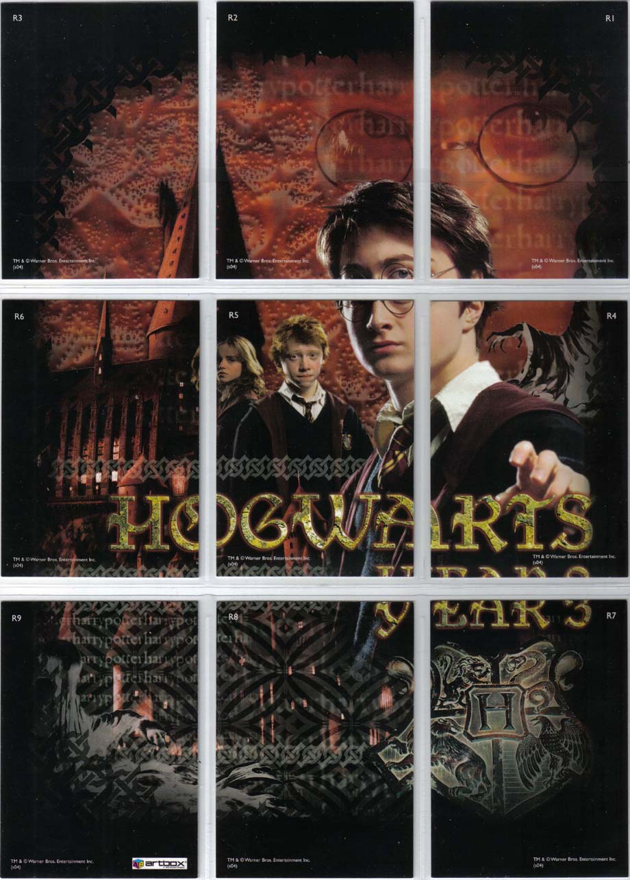 Harry Potter Prisoner Of Azkaban Puzzle Foil Chase Card R1